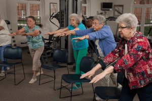 Active Aging Week senior excercise event