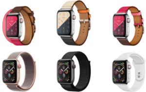 Apple 4 smartwatches