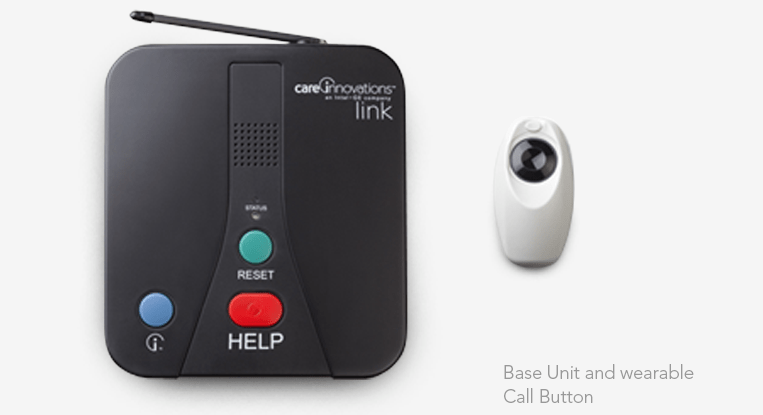 Care Innovations Link medical alert system equipment