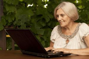 Elderly dating online