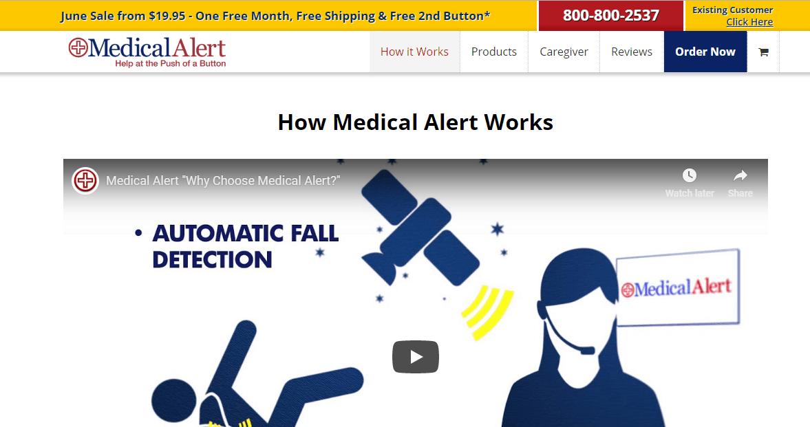 Medical Alert homepage