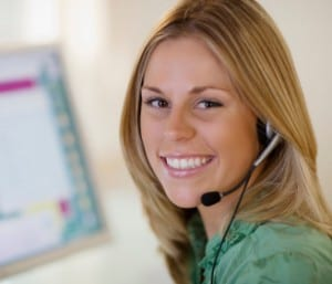 Operator in medical monitoring control center