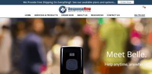 ResponseNow's homepage