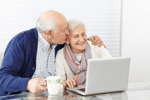 Tech-savvy seniors