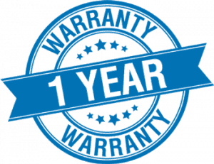 Warranty logo card