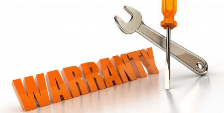 Warranty with repair